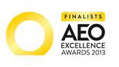 AEO excellence awards 2013 finalists